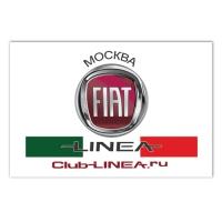 Клубний прапор для любителів автомобіля Fiat Linea