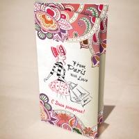 """Дизайн та друк листівок для салону краси """"Gretta"""""""