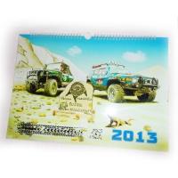 Дизайн та друк перекидного календаря для клубу Toyota FJ Cruiser