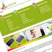 """Створення сайту для рекламної студії """"Sevven"""""""