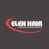"""Створення логотипу для магазину """"Elen Hair"""""""