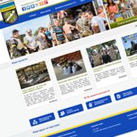 Створення сайту для волонтерської організації