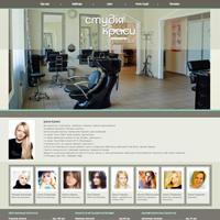 Створення сайту для студії краси Iryna Fraiuk