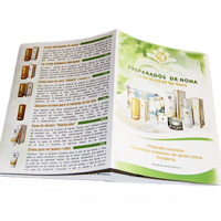 Дизайн буклету 594х210 для препаратів Dr. Nona (Іспанія)