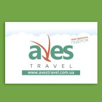 Дизайн та друк на прапорі для туроператора Aves Travel