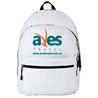 Друк логотипу на рюкзаку для туристичного оператора
