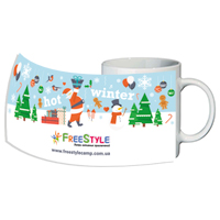 Дизайн чашки для дитячого табору FreestyleCamp
