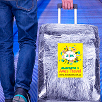 Друк наліпок на багаж для туроператора