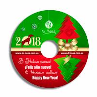 Дизайн та друк на диску для компанії Dr. Nona