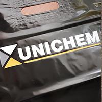 Дизайн та друк на пакетах 30х40 см, для Unichem