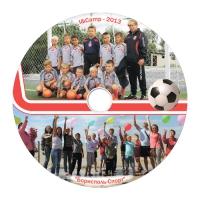 Дизайн диску для спортивного клубу