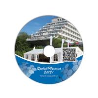 Дизайн та друк диска для компанії Dr Nona